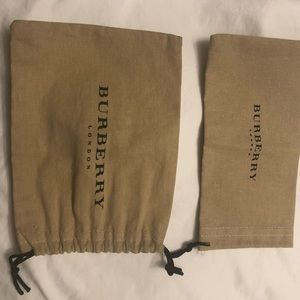 Burberry soft cloth sunglasses and makeup pouch